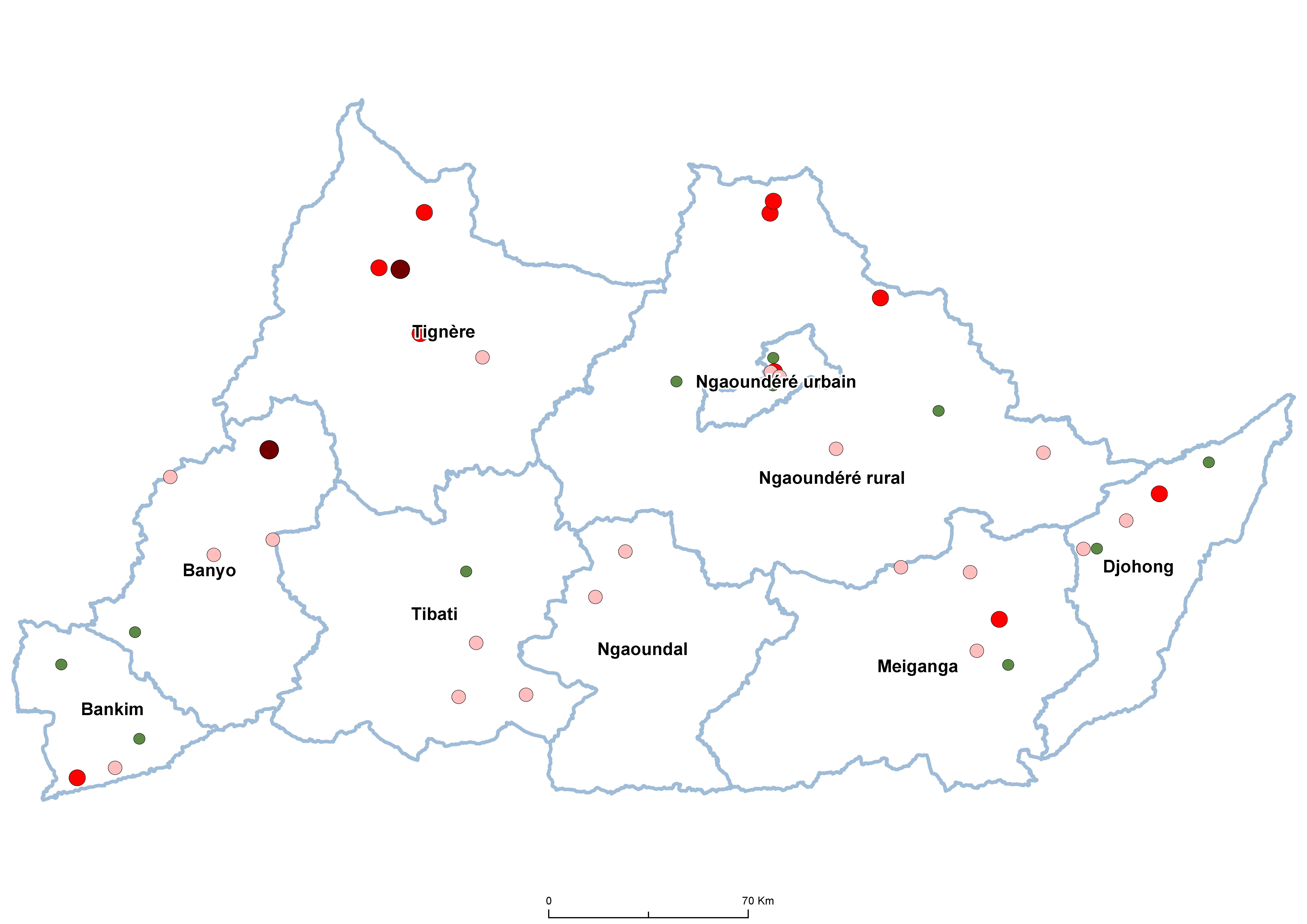 Adamaoua SCH Prevalence by school 20100001