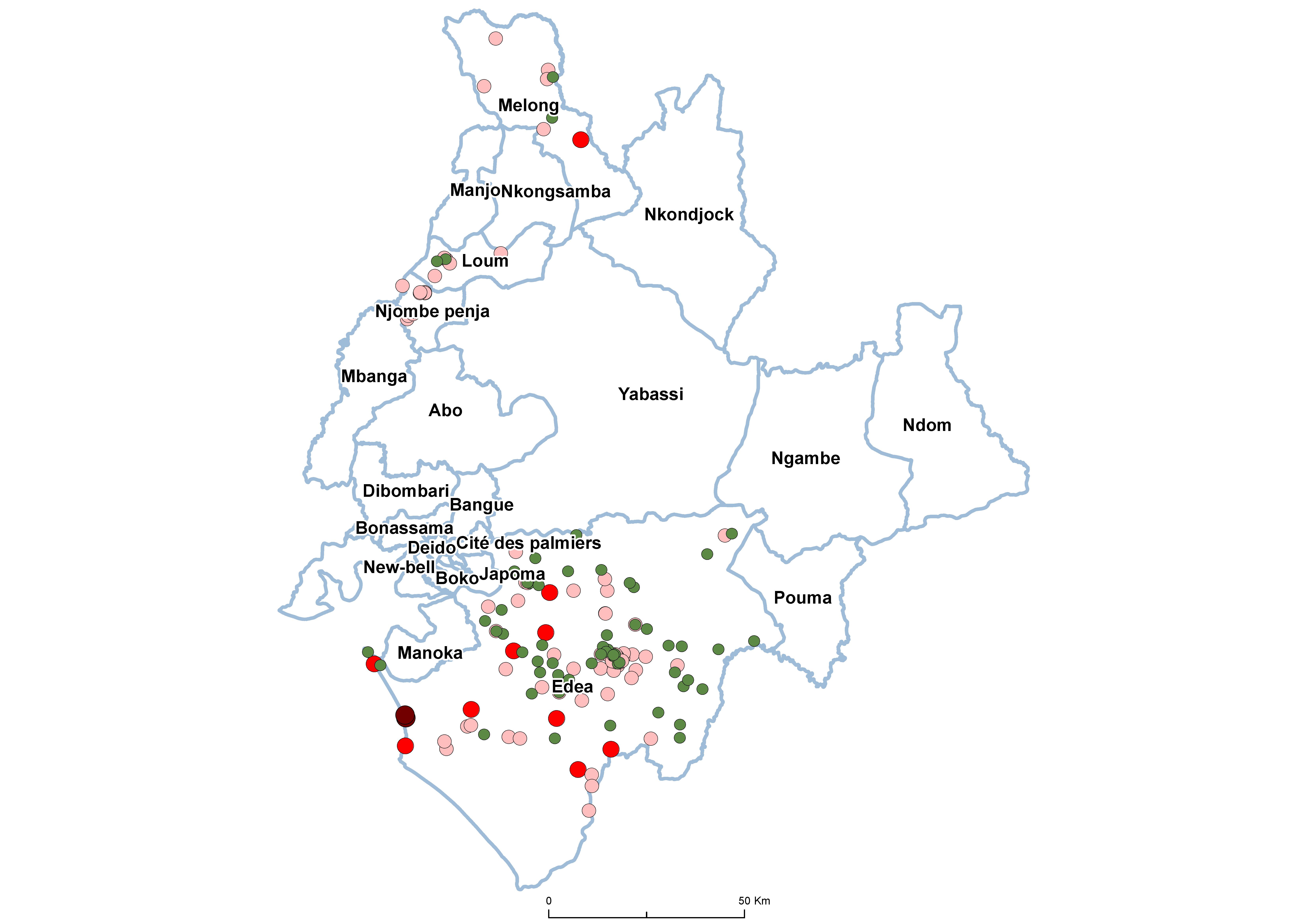 Littoral STH Prevalence by school 20180001