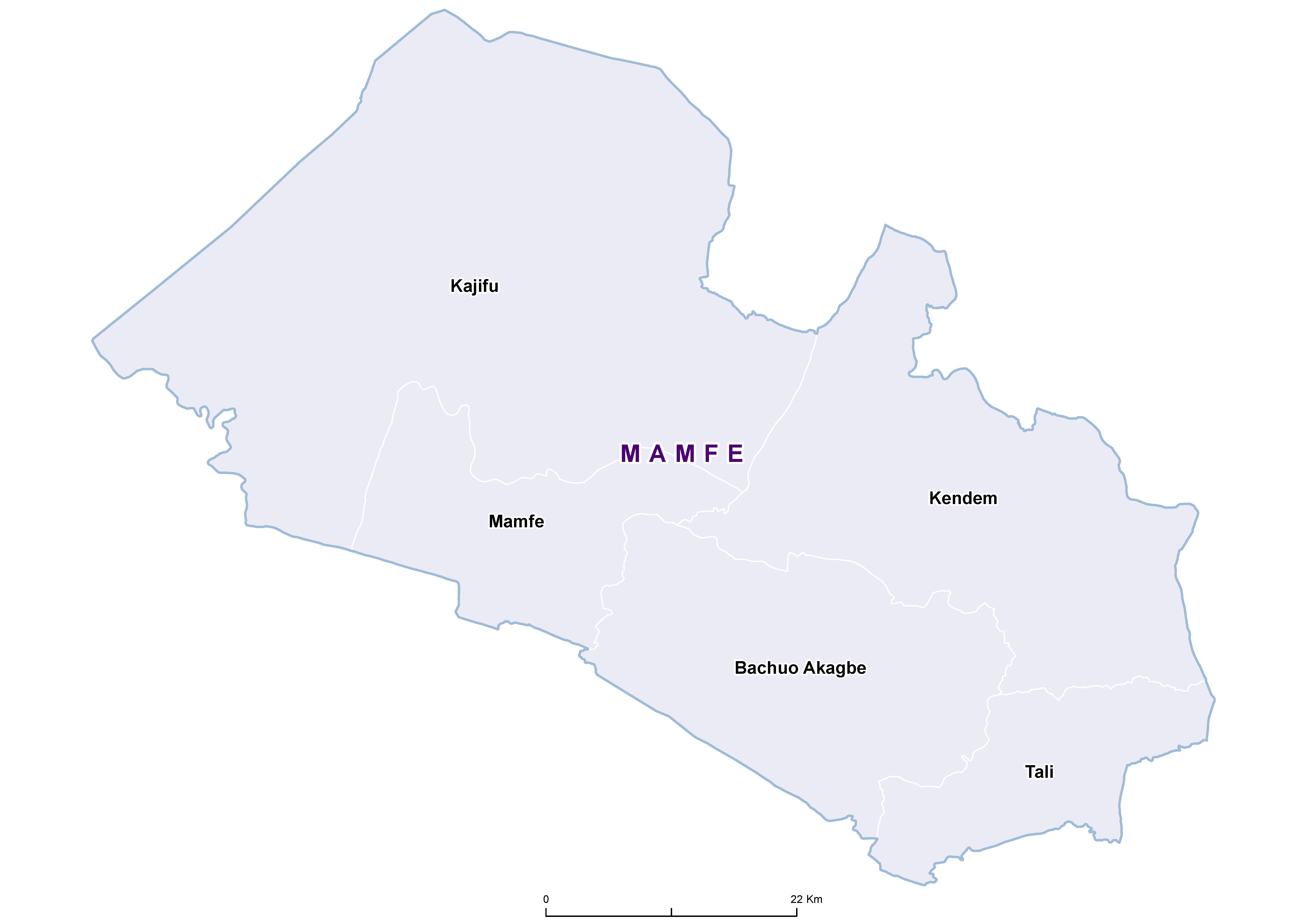 Mamfe STH 20180001